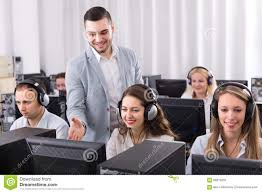 technical support working in call center stock photo image  technical support working in call center