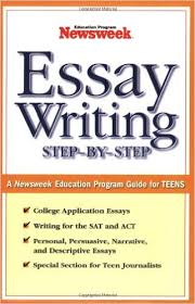 amazon com  essay writing  step by step  a newsweek education    essay writing  step by step  a newsweek education program guide for teens