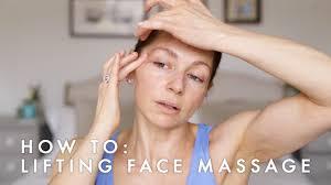 Anti-ageing, <b>Face</b> lifting <b>massage</b> - Abigail James Facialist - YouTube