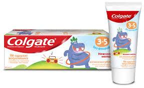 <b>Зубная паста</b> Colgate Нежная мята 3-<b>5</b> лет — купить по выгодной ...