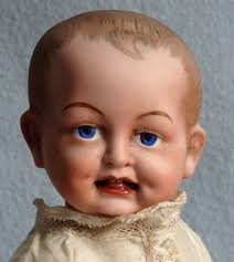 ANTIQUE GOSS G13 <b>BISQUE</b> HEAD CHARACTER <b>BABY</b> DOLL ...