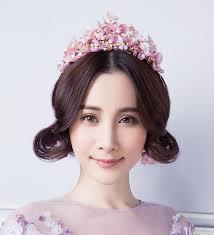 Himstory <b>Handmade Romantic Princess Wedding</b> Hairband Pink ...