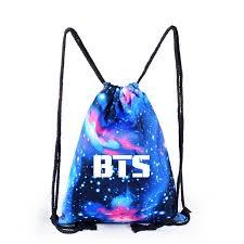 <b>1 Pcs Korean</b> BTS Backpack <b>Kpop Bangtan Boys</b> School Bag ...