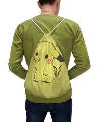 Рюкзак-мешок с полной запечаткой <b>Pokemon Pikachu</b> / <b>Покемон</b> ...