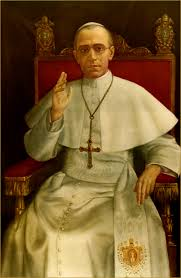 Image result for picture of pope pius xii