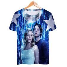 USA <b>Hot TV</b> Show Riverdale South Side Serpents 3D T Shirt Men ...
