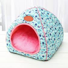 Autumn Winter Dog Warm House Foldable <b>Cat Nest Sleeping Bed</b> ...