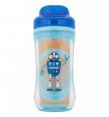 <b>Чашка</b>-<b>термос без носика</b> Dr.Brown's Синий робот, цвет: синий ...