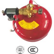 <b>Hanging</b> FM200 fire extinguishing <b>device</b>