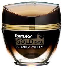 Farmstay <b>Gold</b> Snail Premium Cream Премиальный <b>крем для лица</b> ...
