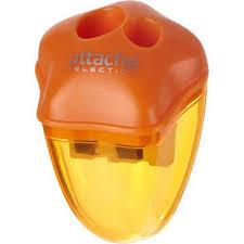 <b>Точилка Attache Selection</b> двойная с контейнером оранжевая ...