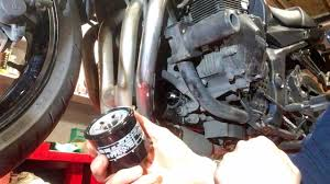 <b>Suzuki GSF 650 Bandit</b> Simple Engine Oil and Filter Change ...