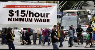 is the federal minimum wage unconstitutional theblaze in this photo taken aug 1 2013 demonstrators protesting what they say