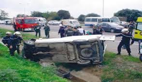 ROUTES: Quatre morts et vingt et un blessés dans des accidents de la route en moins de deux jours (Protection civile)