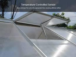 Aluminum Greenhouse Automatic Window Opener Agricultural <b>Solar</b> ...