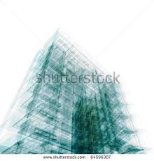 abstract office building high resolution 3d render abstract 3d office building