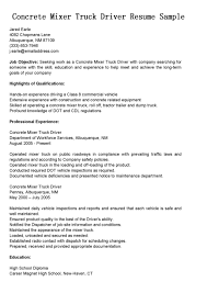 doc concrete mixer truck driver resume sample eager 10241449 concrete mixer truck driver resume sample eager world