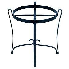 achla designs round wrought iron plant stand achla designs wrought iron