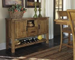 room servers buffets: rustic casual dining room server medium brown