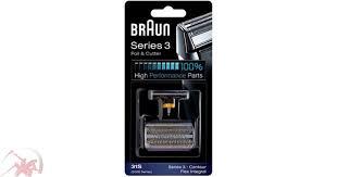 <b>Сетка</b> и режущий блок к бритве <b>Braun 31S</b>, <b>Series3</b>/ 5000/6000 ...