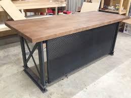 the industrial carruca office desk by sean dineen brooklyn industrial office