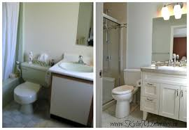 bathroom cabinets beforeandafter x bathroom before and after best paint benjamin moore gray cashmere whit