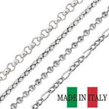 <b>Sterling Silver</b> Chains <b>Wholesale</b> - <b>Bulk 925</b> Italian Silver Chains