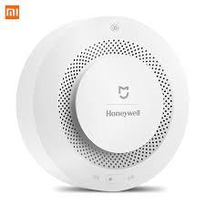 <b>Original Xiaomi Mijia Honeywell</b> Fire Alarm Detector APP Control ...