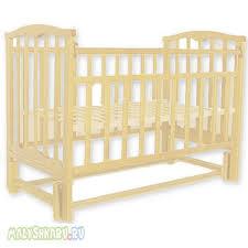 Детская <b>кроватка Агат Золушка</b>-5 (продольный маятник) в ...