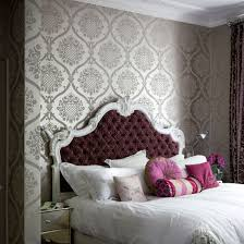 zones bedroom wallpaper:  bedroom wallpaper shimmers