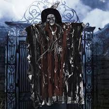 <b>Halloween</b> Creepy Scary <b>Hanging Skull</b> Sound Activated <b>Ghost</b> ...