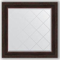 «<b>Зеркало с гравировкой Evoform</b> Exclusive-G 89x89 см в багетной ...