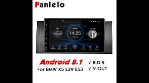 <b>Panlelo Android 8.1</b> Car Stereo GPS Navigation fit for BMW E39 E53 ...