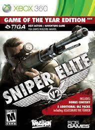 Sniper Elite V2 GOTY RGH Xbox 360 Español 4gb[Mega+] Xbox Ps3 Pc Xbox360 Wii Nintendo Mac Linux