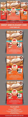 bake flyer personalized printable by snicklefritzdesignco sweet and elegant cake flyer template