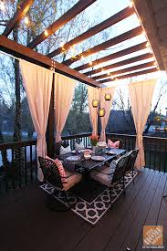 deck decorating ideas a pergola lights and diy cement planters blog 3 deck accent lighting