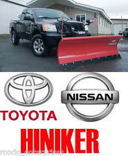 hiniker snow plow hiniker 7 1 2 hd steel snow plow complete video fits nissan