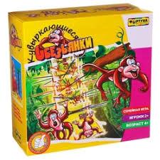 «<b>Настольная семейная игра</b> Кувыркающиеся обезьянки Ф51234 ...