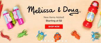 <b>Игрушки Melissa</b> & <b>Doug</b> - официальный сайт