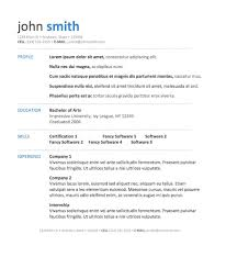 word template via bespoke resumes clean simple white space templates