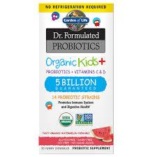 Garden Of Life <b>Dr</b>. <b>Formulated Probiotics</b>, <b>Organic</b> Kids+ ...