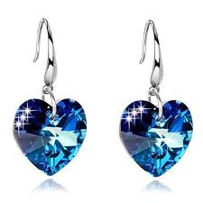 Blue Blue Earrings Sale, Price & Reviews | Gearbest