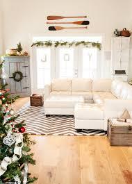 holiday decor shabby chic style family room chic family room decorating