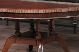 Hickory Dining Room Table 60 Round Flame Mahogany Dining Room Table By Hickory Chair Mount