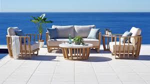 Buy Woodland <b>4</b>-<b>Piece Outdoor Lounge</b> Setting   Harvey Norman AU