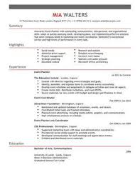 event planning media planner resume sample x event planning resume cv for marketing livecareer event coordinator resume sample