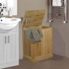 baumhaus mobel oak laundry bin baumhaus mobel solid oak laundry