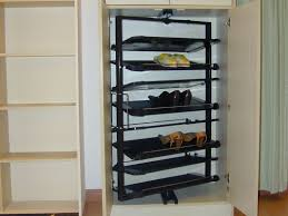 image of amazing shoe rack organizer black color shoe rack storage sliding