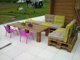 Upcycled Pallet Garden Furniture  D