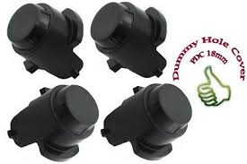 4x <b>PDC Parking Sensor</b> Fake Dummy <b>Hole</b> Cover <b>PDC</b> 18mm Front ...